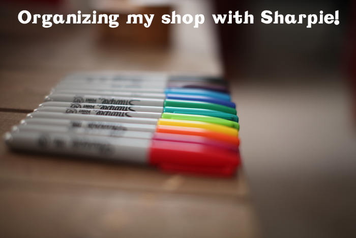 Small Business Owners Staying Organized With Sharpie