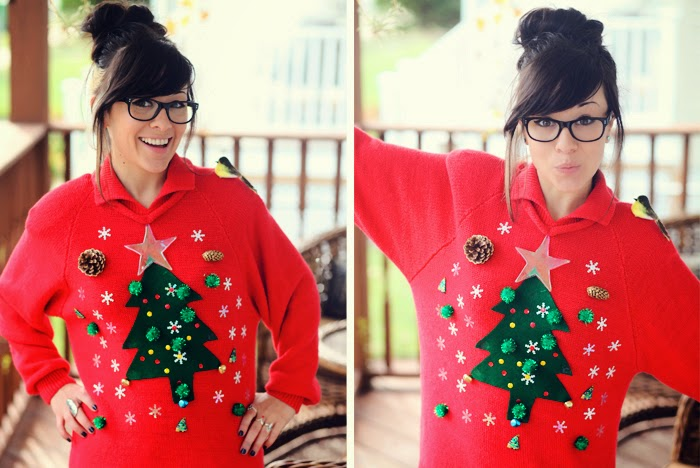 DIY Ugly Christmas Sweater!