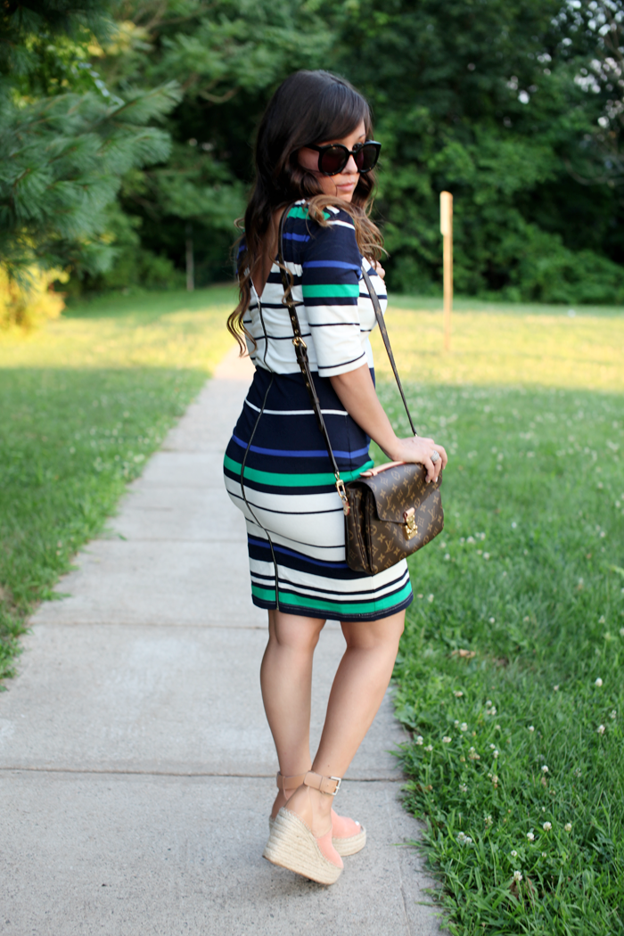 See how fashion, lifestyle, and beauty blogger Little Tree Vintage styles two affordable outfits for work.