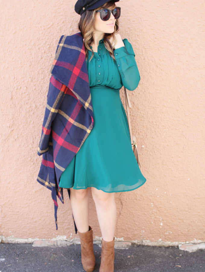 Fall Maternity Style // Green Tones