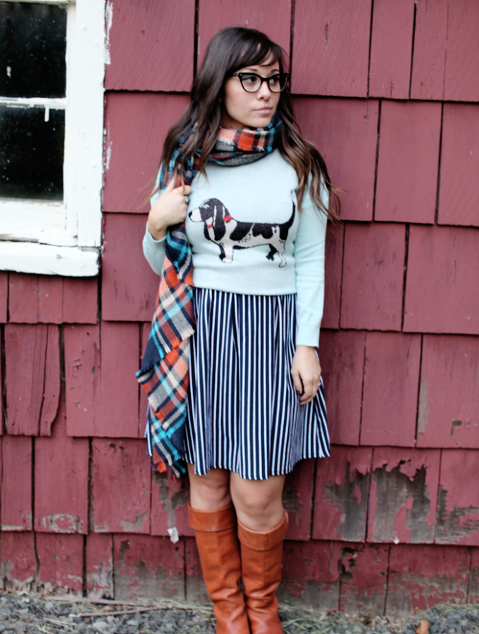 One Dress Styled Two Ways for Fall!